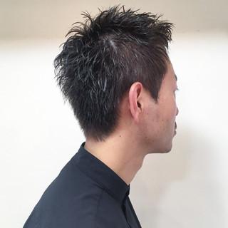 パーマ 爽やか ショート ベリーショート ヘアスタイルや髪型の写真・画像