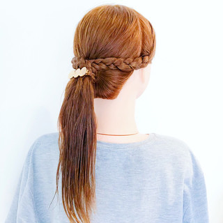涼しげ 夏 ポニーテール オフィス ヘアスタイルや髪型の写真・画像   美容師HIRO/Amoute代表 / Amoute/アムティ