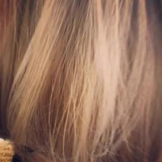 ボブ 色気 ハイライト ショートボブ ヘアスタイルや髪型の写真・画像