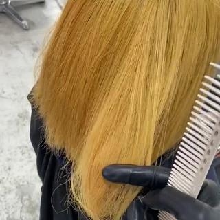 ミルクティーベージュ ピンク ナチュラル ブリーチ ヘアスタイルや髪型の写真・画像