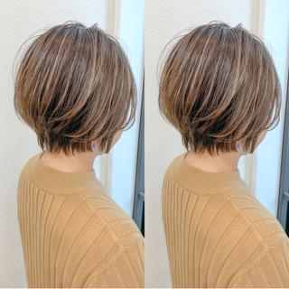 ベリーショート ショートボブ ショートパーマ ショートヘア ヘアスタイルや髪型の写真・画像