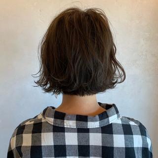 アンニュイほつれヘア パーマ パーマ ヘアスタイルや髪型の写真・画像