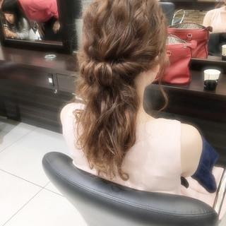 ショート ポニーテール セミロング 簡単ヘアアレンジ ヘアスタイルや髪型の写真・画像 ヘアスタイルや髪型の写真・画像
