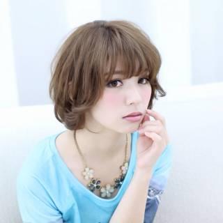 ショート 大人かわいい モテ髪 愛され ヘアスタイルや髪型の写真・画像 ヘアスタイルや髪型の写真・画像