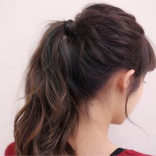 ショート ヘアアレンジ 簡単ヘアアレンジ ハイライト ヘアスタイルや髪型の写真・画像