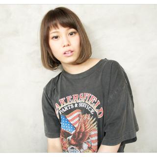 リラックス ヘアアレンジ 前髪あり 外国人風 ヘアスタイルや髪型の写真・画像