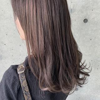 透明感 ナチュラル グラデーションカラー ナチュラルベージュ ヘアスタイルや髪型の写真・画像