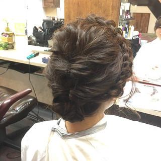 ショート 波ウェーブ 簡単ヘアアレンジ アッシュ ヘアスタイルや髪型の写真・画像