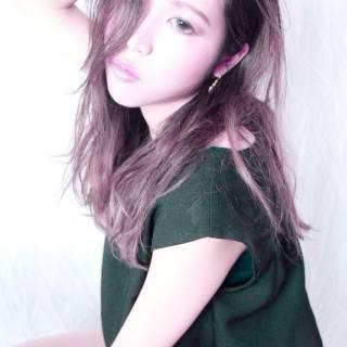 抜け感 ガーリー モード フェミニン ヘアスタイルや髪型の写真・画像