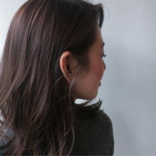 透明感 冬 秋 大人かわいい ヘアスタイルや髪型の写真・画像