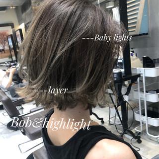 ミニボブ ボブ ショートヘア コンサバ ヘアスタイルや髪型の写真・画像