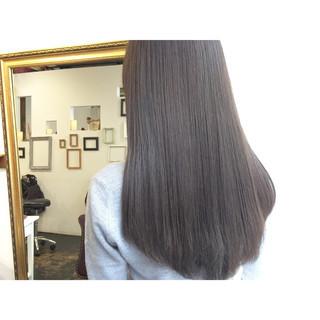 ナチュラル 暗髪 透明感 オリージュ ヘアスタイルや髪型の写真・画像