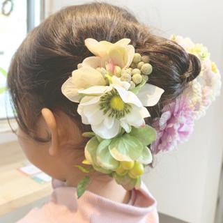 ショート ヘアアレンジ ガーリー ショートヘア ヘアスタイルや髪型の写真・画像