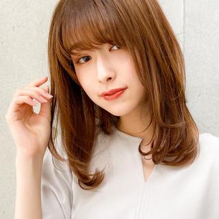 ナチュラル 愛され レイヤースタイル レイヤーカット ヘアスタイルや髪型の写真・画像