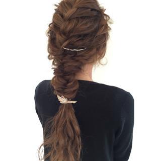 外国人風 ロング ショート ポニーテール ヘアスタイルや髪型の写真・画像