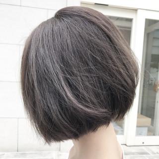 ボブ デート オフィス 外国人風カラー ヘアスタイルや髪型の写真・画像