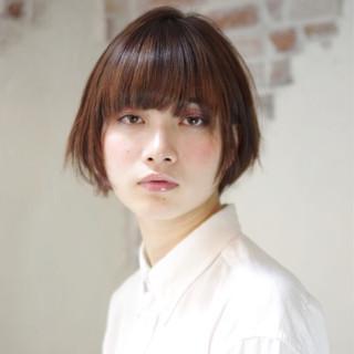 黒髪 モード ショート かっこいい ヘアスタイルや髪型の写真・画像 ヘアスタイルや髪型の写真・画像