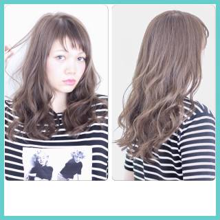モテ髪 ナチュラル コンサバ セミロング ヘアスタイルや髪型の写真・画像