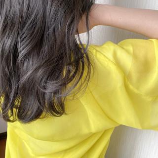 アッシュベージュ 透明感カラー ナチュラル アッシュグレージュ ヘアスタイルや髪型の写真・画像
