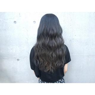 ロング 外国人風 グラデーションカラー 外国人風カラー ヘアスタイルや髪型の写真・画像