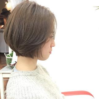 グラデーションカラー ボブ 暗髪 ナチュラル ヘアスタイルや髪型の写真・画像 ヘアスタイルや髪型の写真・画像