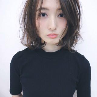 暗髪 アッシュ 色気 パーマ ヘアスタイルや髪型の写真・画像