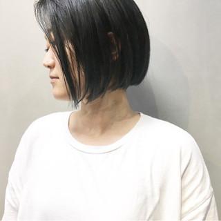 ミルクティーアッシュ ストリート ミルクティーベージュ マッシュショート ヘアスタイルや髪型の写真・画像