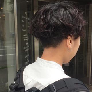 前下がりショート ガーリー ショートヘア ハンサムショート ヘアスタイルや髪型の写真・画像