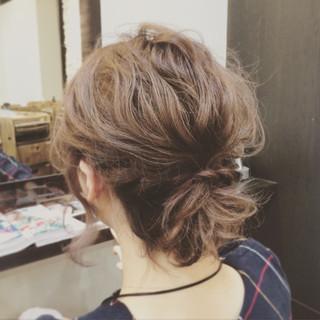 大人かわいい 外国人風 ゆるふわ 簡単ヘアアレンジ ヘアスタイルや髪型の写真・画像
