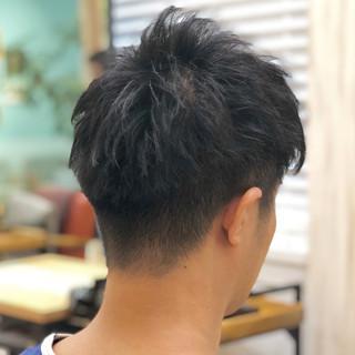 刈り上げショート メンズショート ショート ナチュラル ヘアスタイルや髪型の写真・画像