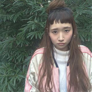ルーズ ヘアアレンジ パーマ ロング ヘアスタイルや髪型の写真・画像