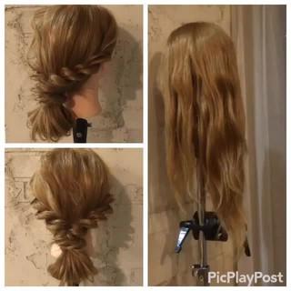 簡単ヘアアレンジ ヘアアレンジ 前髪あり ショート ヘアスタイルや髪型の写真・画像