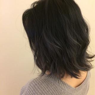 ボブ 冬 外国人風 アッシュ ヘアスタイルや髪型の写真・画像 ヘアスタイルや髪型の写真・画像