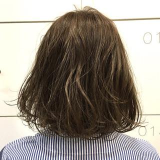 ボブ 外国人風 グレージュ 外国人風カラー ヘアスタイルや髪型の写真・画像