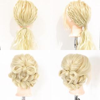 ねじり ショート 上品 簡単ヘアアレンジ ヘアスタイルや髪型の写真・画像