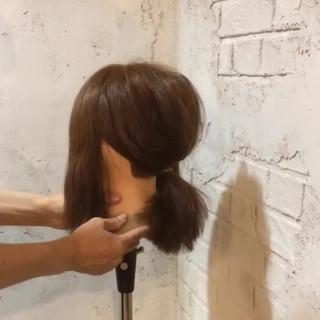 簡単ヘアアレンジ ショート ヘアアレンジ ボブ ヘアスタイルや髪型の写真・画像