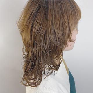 ストリート マッシュウルフ レイヤーカット ミディアム ヘアスタイルや髪型の写真・画像