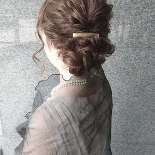 ヘアアレンジ ハーフアップ ナチュラル ゆるふわ ヘアスタイルや髪型の写真・画像 ヘアスタイルや髪型の写真・画像