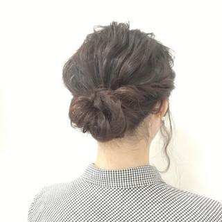 簡単ヘアアレンジ 愛され ヘアアレンジ ロング ヘアスタイルや髪型の写真・画像