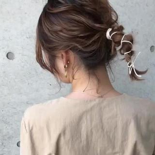 ナチュラル ボブ アンニュイほつれヘア おしゃれさんと繋がりたい ヘアスタイルや髪型の写真・画像