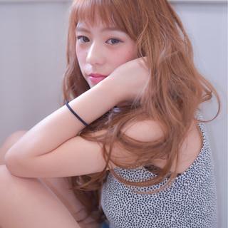 ノームコア 大人かわいい 外国人風 ロング ヘアスタイルや髪型の写真・画像