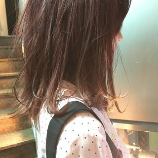 ストリート グレージュ スモーキーカラー 冬 ヘアスタイルや髪型の写真・画像
