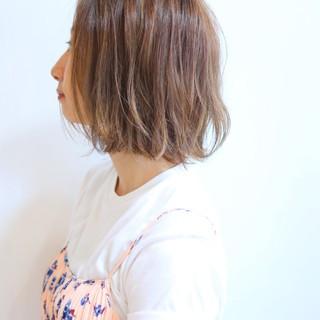 ボブ オフィス リラックス 女子会 ヘアスタイルや髪型の写真・画像