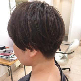 ストリート ベリーショート ショートヘア 刈り上げ女子 ヘアスタイルや髪型の写真・画像