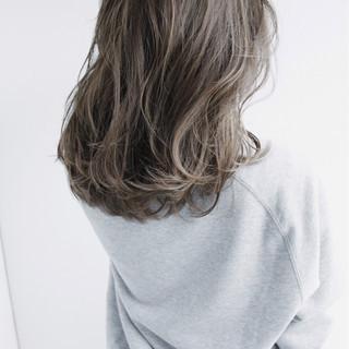 ガーリー モテ髪 渋谷系 セミロング ヘアスタイルや髪型の写真・画像