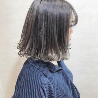 ラベンダーピンク カジュアル ハイトーンカラー ストリート ヘアスタイルや髪型の写真・画像