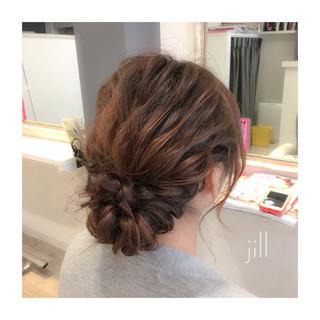 ミディアム ショート ヘアアレンジ 簡単ヘアアレンジ ヘアスタイルや髪型の写真・画像 ヘアスタイルや髪型の写真・画像