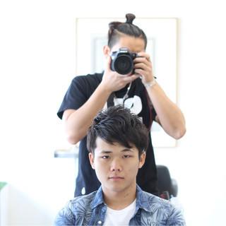 モテ髪 ナチュラル ボーイッシュ メンズ ヘアスタイルや髪型の写真・画像 ヘアスタイルや髪型の写真・画像