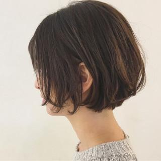 パーマ リラックス ショート ボブ ヘアスタイルや髪型の写真・画像 ヘアスタイルや髪型の写真・画像