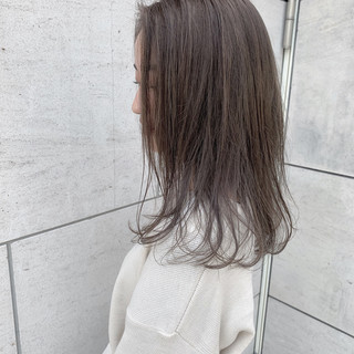 ハイライト ナチュラル ロング 春 ヘアスタイルや髪型の写真・画像